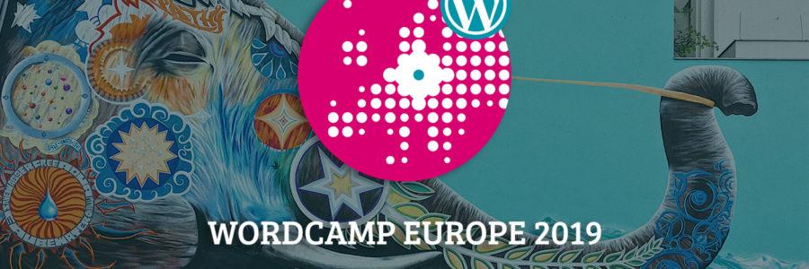 WordCamp Europe 2019 Banner